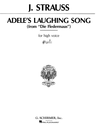 Product Cover for Adele's Laughing Song (Mein Herr Marquis) (from Die Fledermaus)