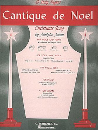 Product Cover for Cantique de Noel – Organ Solo