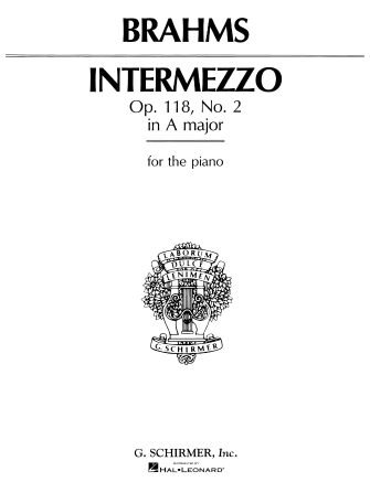 Product Cover for Intermezzo in A Major, Op. 118, No. 2