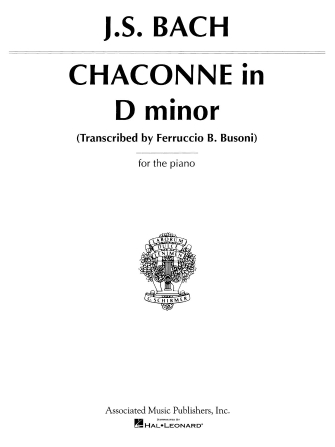 Product Cover for Chaconne in D Minor