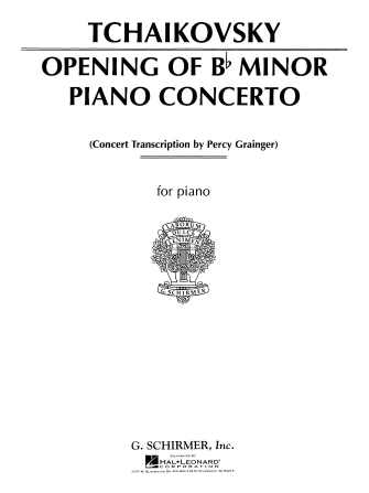 Product Cover for Concerto in Bb Minor (Opening)