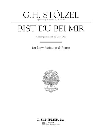 Product Cover for Bist du bei mir (Thou Art My Joy)