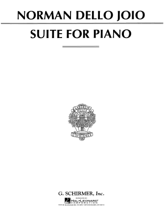 Product Cover for Suite for Piano