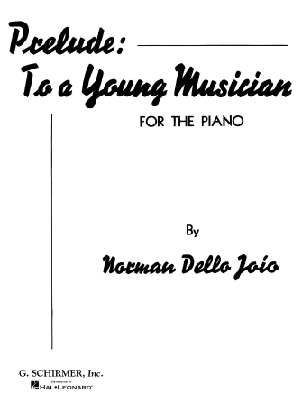 Product Cover for Prelude to a Young Musician