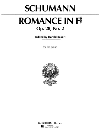 Product Cover for Romance, Op. 28, No. 2 in F Sharp