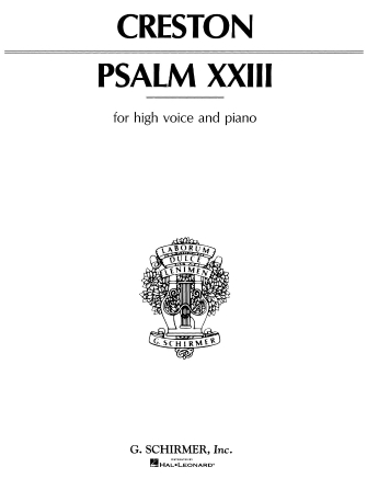Product Cover for Psalm 23