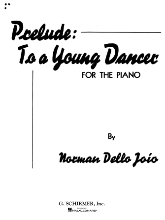 Product Cover for Prelude to a Young Dancer