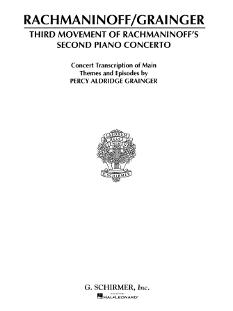 Product Cover for Concerto No. 2 – 3rd Movement
