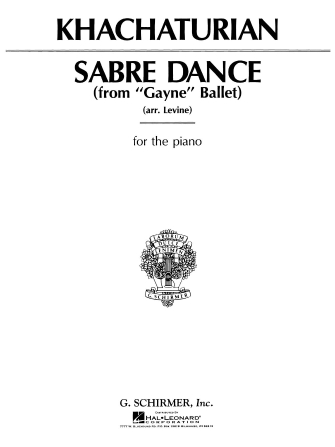 Product Cover for Sabre Dance