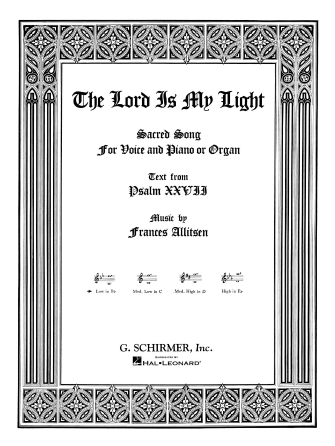 Product Cover for The Lord Is My Light