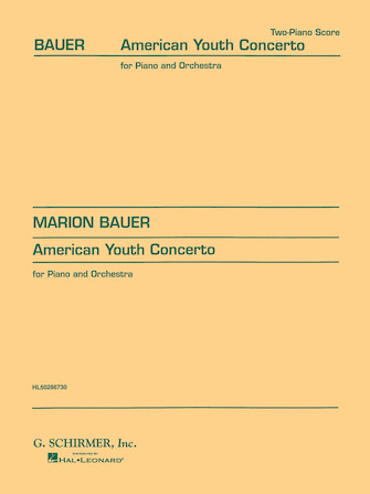 Product Cover for American Youth Concerto (2-piano score)