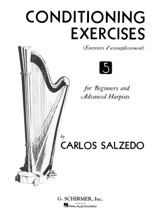 Product Cover for Conditioning Exercises for Beginners and Advanced Harpists