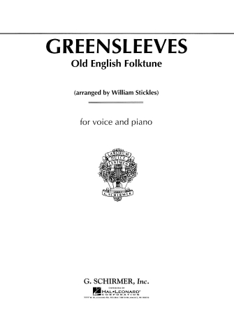 Product Cover for Greensleeves (Old English Folksong)