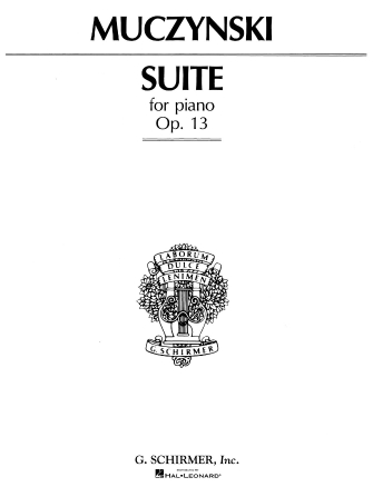 Product Cover for Suite, Op. 13