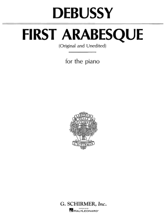 Product Cover for Arabesque No. 1