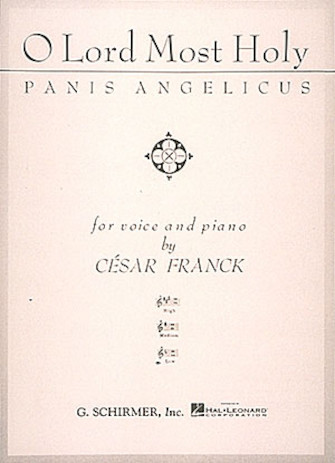 Product Cover for Panis Angelicus (O Lord Most Holy)