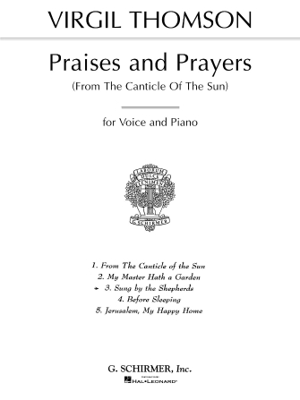 Product Cover for Sung by the Shepherds (from Praises and Prayers)