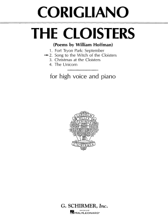 Product Cover for Song to the Witch of the Cloisters