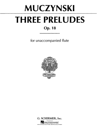 Product Cover for Three Preludes, Op. 18