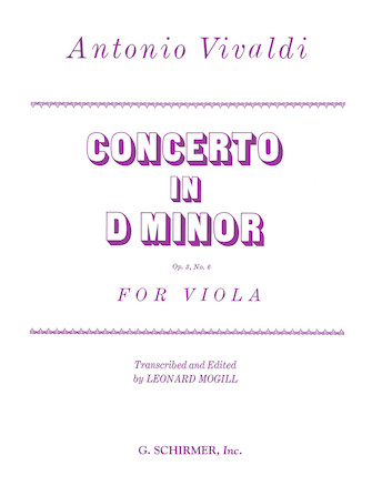 Product Cover for Concerto in D Minor, Op. 3, No. 6