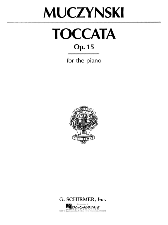 Product Cover for Toccata, Op. 15