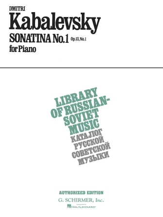 Product Cover for Sonatina No. 1, Op. 13