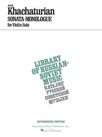 Product Cover for Sonata–Monologue