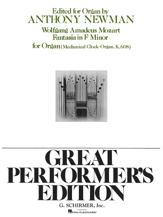Product Cover for Fantasia in F Minor, K.608 (Great Performer's Edition)