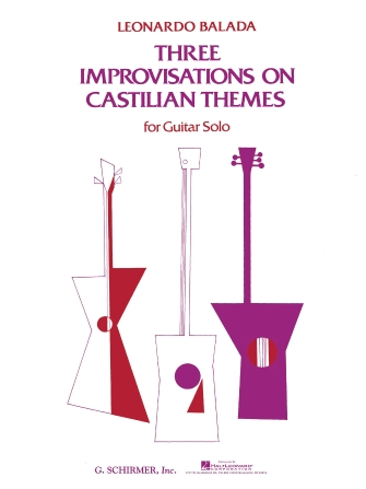 Product Cover for 3 Improvisations on Castilian Themes