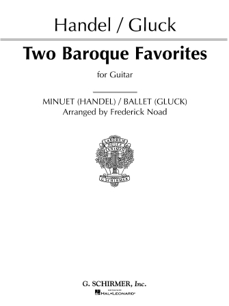 Product Cover for Two Baroque Favorites