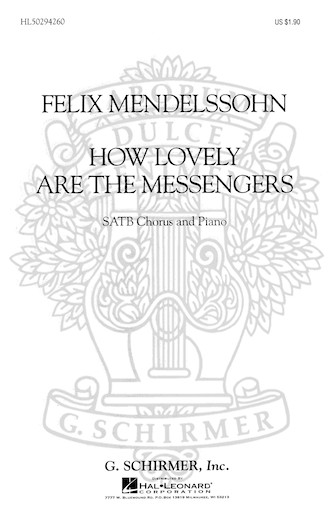 Product Cover for How Lovely Are the Messengers (from St. Paul)