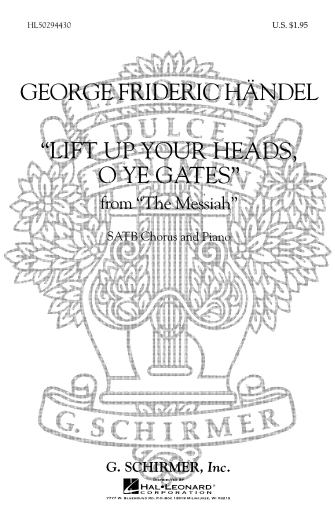 Product Cover for Lift Up Your Heads O Ye Gates From The Messiah