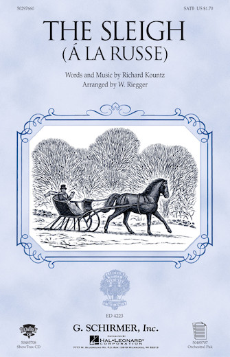 Product Cover for The Sleigh (À La Russe)