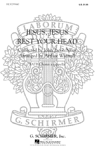 Product Cover for Jesus Jesus Rest Your Head