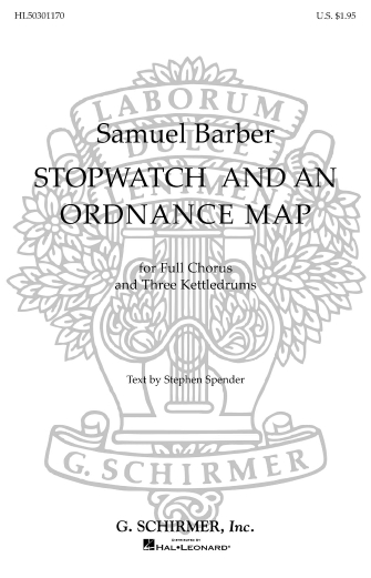 Product Cover for Stopwatch And An Ordinance Map 3 Tympani