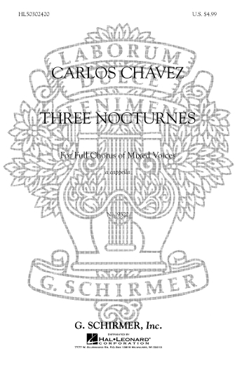 Product Cover for 3 Nocturnes A Cappella