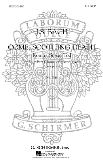 Product Cover for Come Soothing Death (Komm Susser Tod)