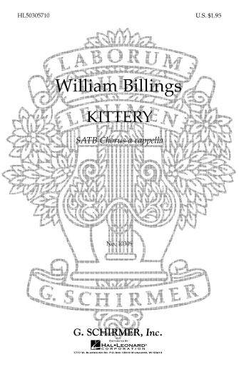 Product Cover for Kittery A Cappella