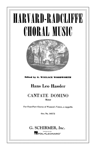 Product Cover for Cantate Domino (Motet)