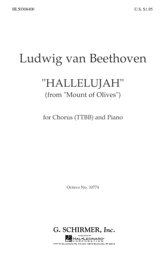 Product Cover for Hallelujah From Mount Of Olives Piano
