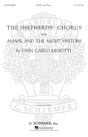 Product Cover for Shepherd's Chorus from Amahl and the Night Visitors