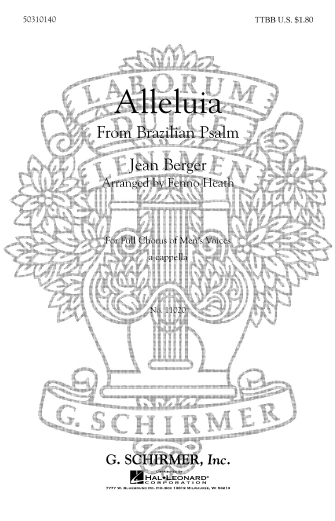 Product Cover for Alleluia (from Brazilian Psalm)