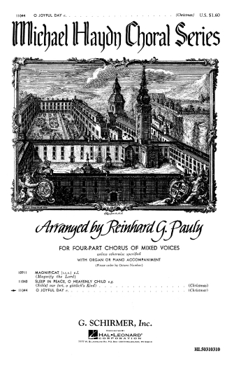 Product Cover for O Joyful Day Piano Or Organ