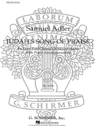 Product Cover for Judah's Song of Praise