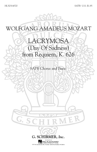 Lacrymosa K626 Day Of Sadness From Requiem