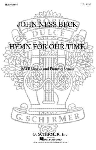 """Product Cover for Hymn for Our Time (based on hymn tune """"Hyfrydol"""")"""