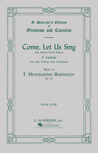 Come Let Us Sing (Psalm 95)