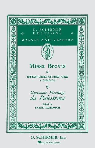 Product Cover for Missa Brevis in F