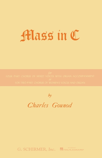 Product Cover for Mass in C