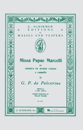 Product Cover for Missa Papae Marcelli